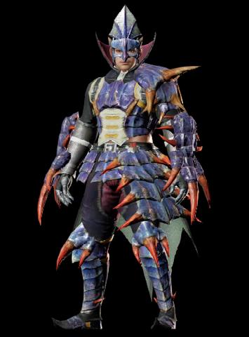 File:MHO-Garuga Armor (Gunner) (Male) Render 001.png