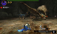 MHGen-Rathian and Velociprey Screenshot 002