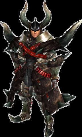 File:FrontierGen-Black Diablos G Armor (Blademaster) (Male) Render 001.png