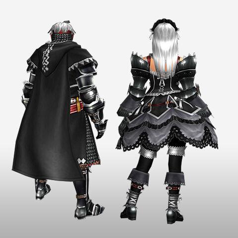 File:FrontierGen-Kinosu Armor (Both) and Bureshisu Armor (Blademaster) (Back) Render.jpg