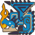 File:MH3U-Azure Rathalos Icon.png