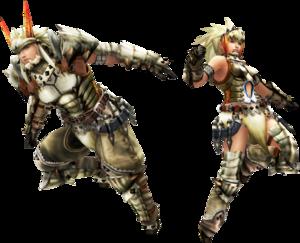 FrontierGen-Barioth Armor (Blademaster) (Both) Render 2