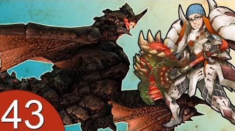 Monster Hunter 4 Nubcakes 43 - Black Gravios HR5 URGENT English commentary online gameplay