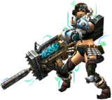MHXR-Heavy Bowgun Equipment Render 002