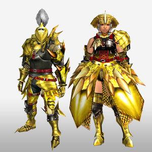 FrontierGen-Luna G Armor (Blademaster) (Front) Render