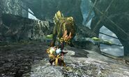 MH4U-Deviljho and Azure Rathalos Screenshot 001