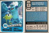 Rookie card mike and sulley by dlee1293847-d6y62wg