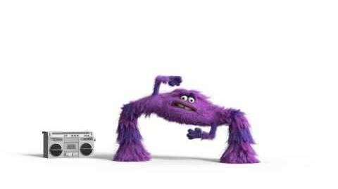 Monsters University - Breakdance