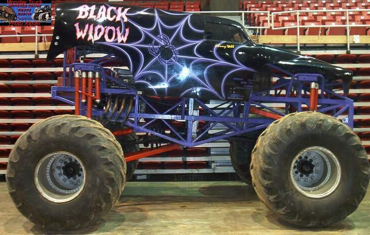 black widow rife monster trucks wiki fandom powered by wikia. Black Bedroom Furniture Sets. Home Design Ideas