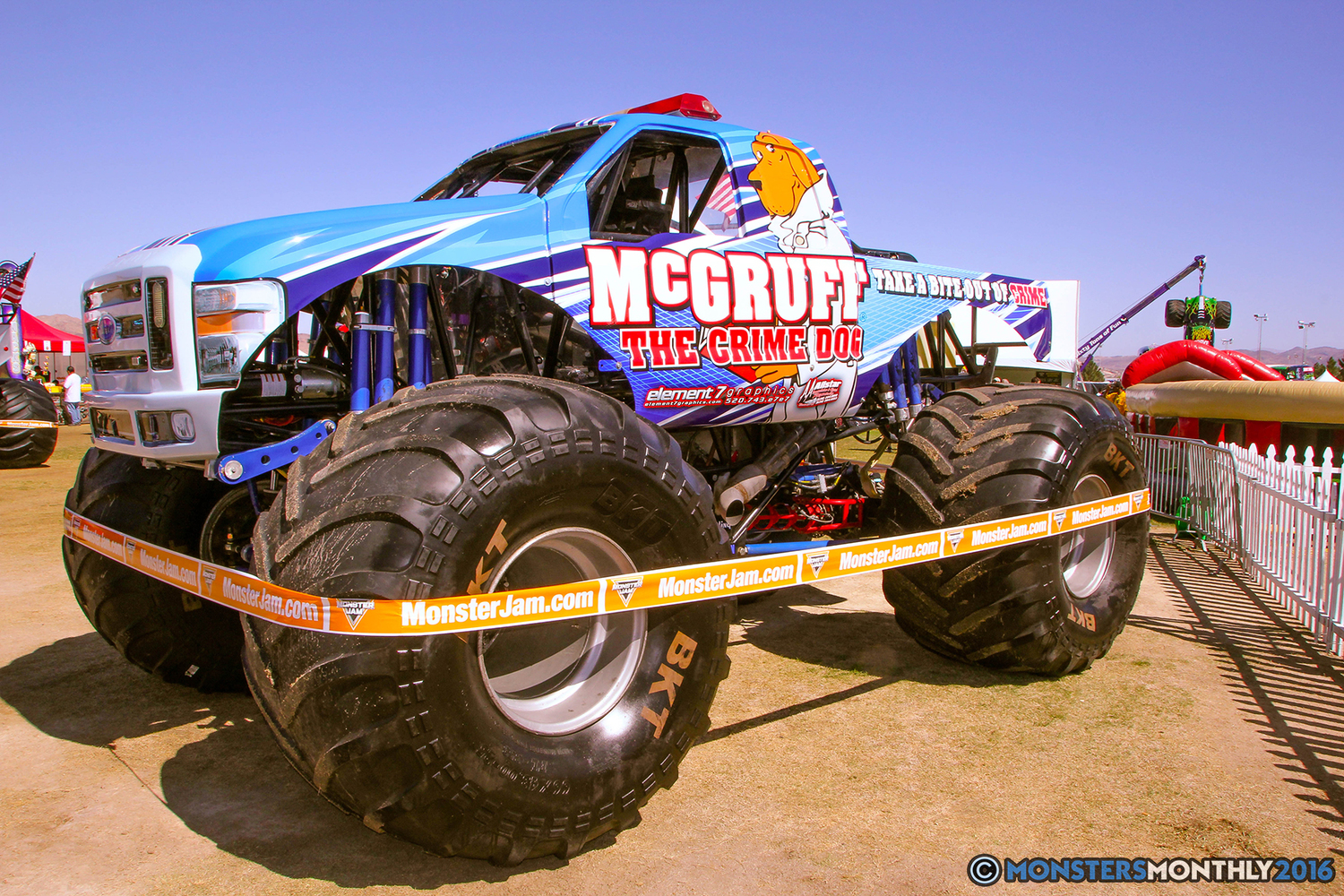 Monster Jam Las Vegas >> McGruff | Monster Trucks Wiki | Fandom powered by Wikia