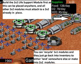 MoonBase Inc 2x2 Life Support