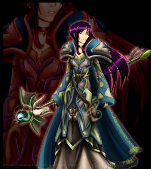 World of Warcraft Warlock by FairJinx