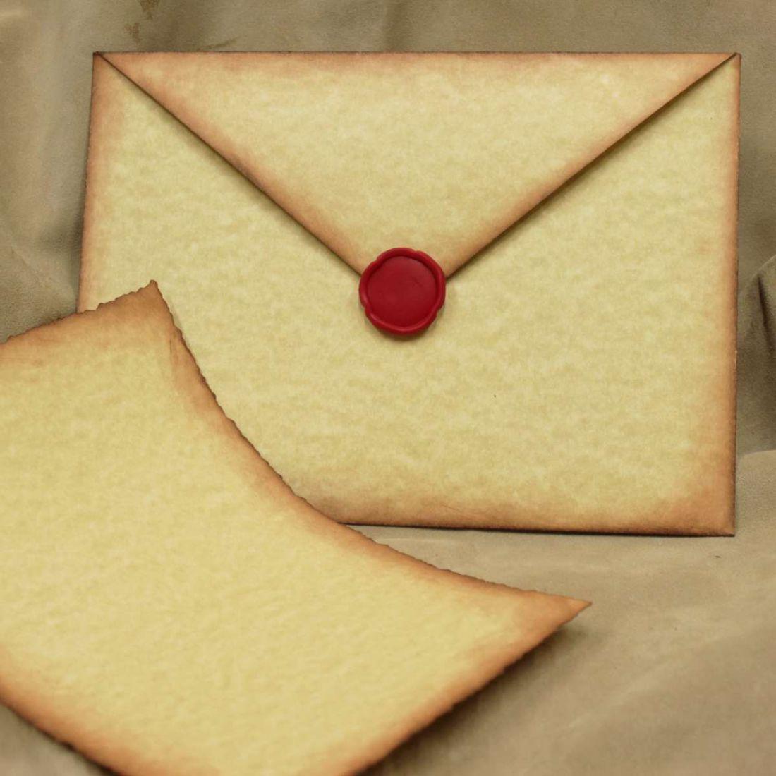 Как сделать секретное письмо