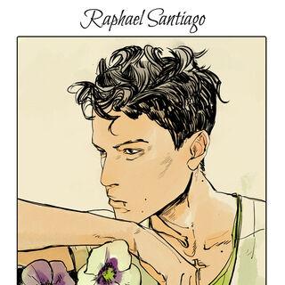 Raphael's flower card