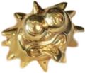 Iggy figure solid gold