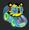 Moshi Karts moshlings neon Jeepers