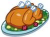 Egg Hunt food Roast Turkey