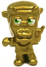 49 Pence figure gold