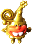 Dr C Fingz circus figure gold