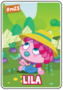 Collector card s5 lila