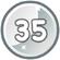 Level 35 icon