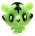 Jeepers figure scream green