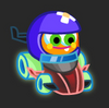 Moshi Karts moshlings neon Quincy