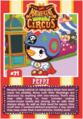 Collector card magnificent moshi circus peppy