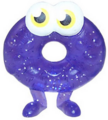 Oddie figure glitter purple
