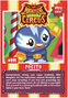 Collector card magnificent moshi circus pocito