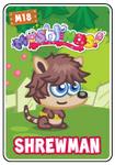 Collector card s3 shrewman