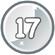 Level 17 icon
