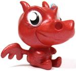 Burnie figure bauble red
