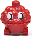 Cutie Pie figure bauble red