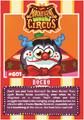 Collector card magnificent moshi circus rocko