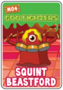 Collector card s3 squint beastford