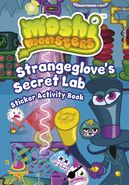 Strangeglove's Secret Lab Sticker Activity Book cover
