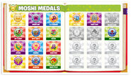 Roary Scrawl's medals