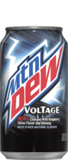 Mtn Dew Voltage Can