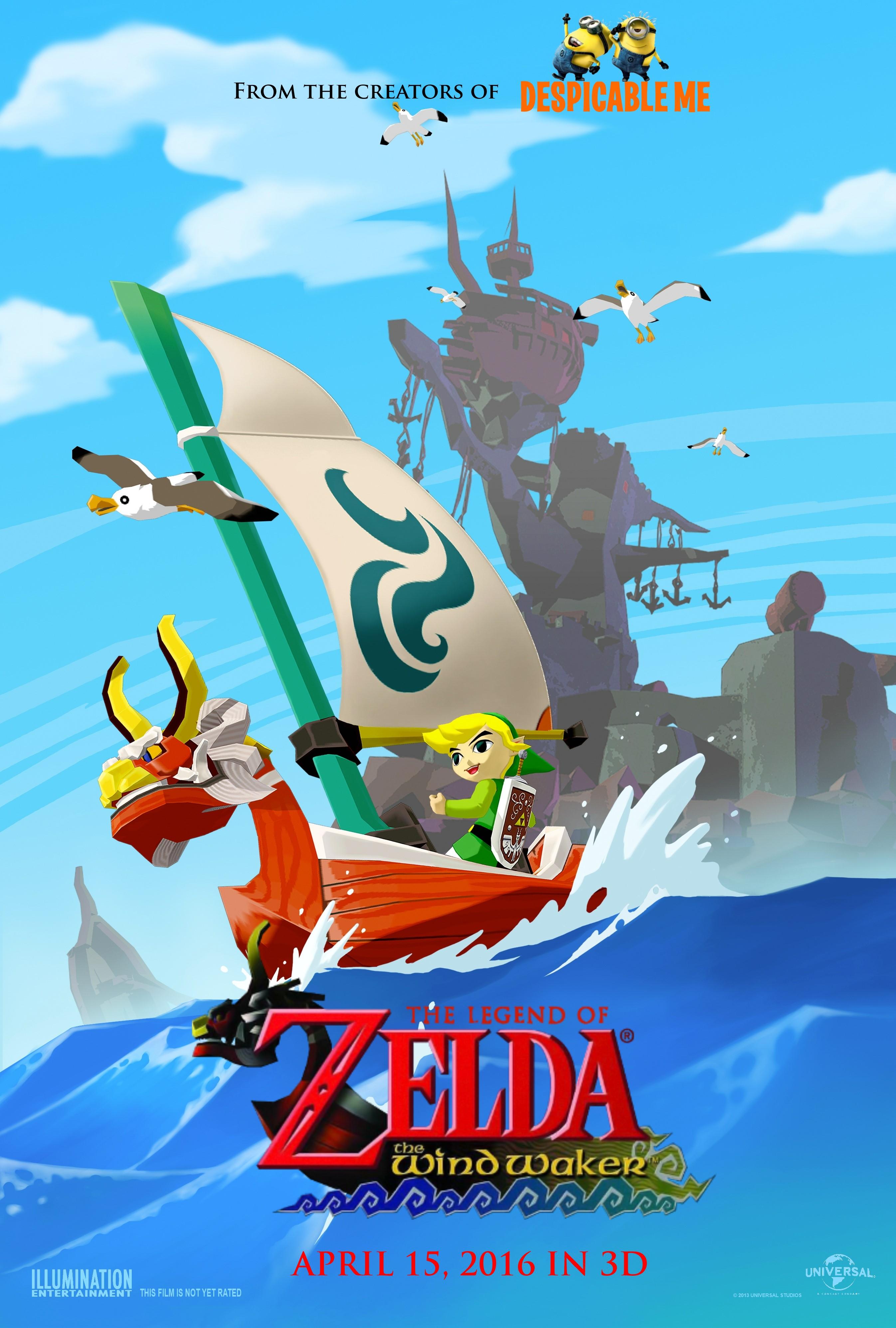 Legend Of Zelda Wind Waker Poster Poster  The Legend of Zelda