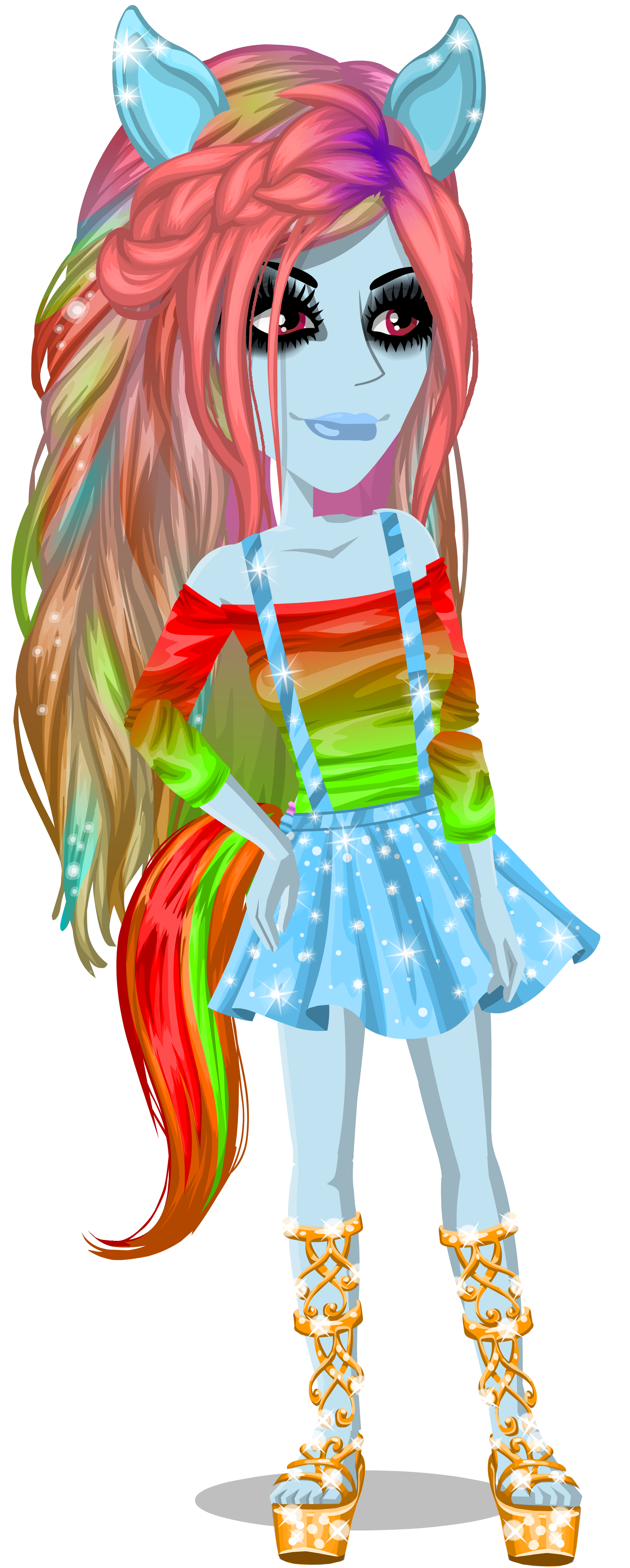 rainbow dash is awesome moviestarplanet wiki fandom powered by wikia. Black Bedroom Furniture Sets. Home Design Ideas