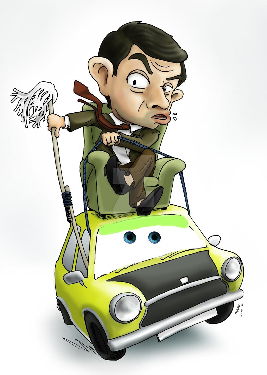 Image Mr Bean Chair Drive A Car By Disney Pixar Mr Bean Wiki Fandom Powered By Wikia