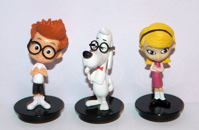 File:Mr. Peabody and Sherman and Penny Peterson miniture figures.JPG