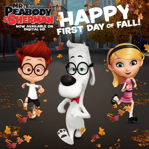 File:Mr. Peabody and Sherman First day of Fall.jpg