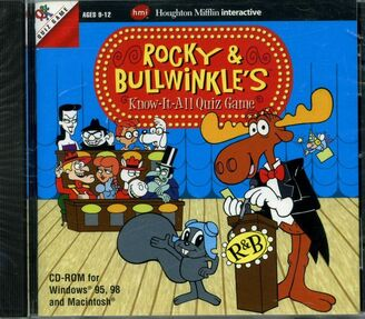 Rocky and Bullwinkle's Know It All Quiz Game