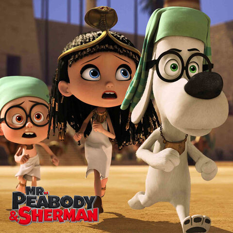 File:Mr. Peabody and Sherman Tom's Family.jpg