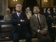 Mr. Bean in Church
