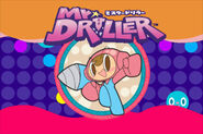 Mr. Driller IOS Title Screen