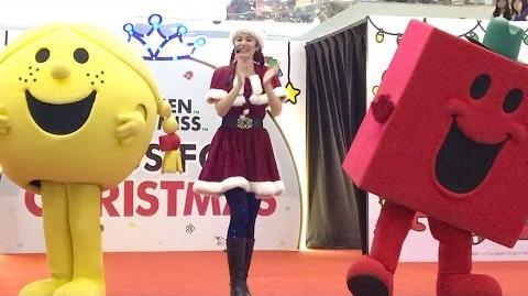 Mr. Men Little Miss Hugs for Christmas