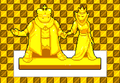 White King and White Queen Statues Prospitian Library -S- Seer Descend.png